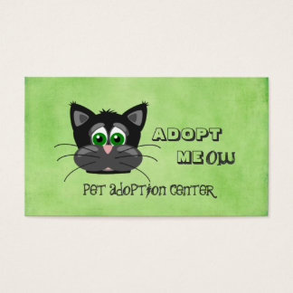 Pet Animal Adoption Center Shelter Business Card