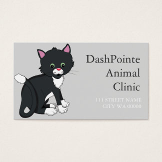 Pet Animal Clinic  Shelter Veterinary Business Card