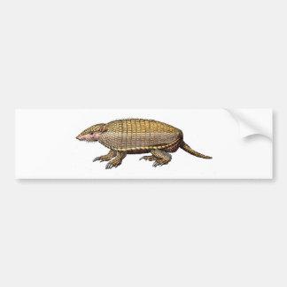 Pet Armadillo Bumper Sticker