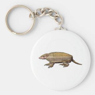 Pet Armadillo Keychain