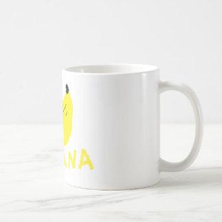 pet banana coffee mug