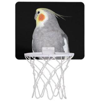 Pet Bird Cockatiel Photo Mini Basketball Hoop