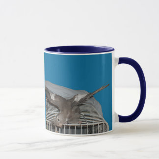 Pet Bird Watcha Doing Mug