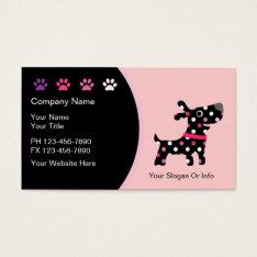Pet Boutique Business Cards at Zazzle