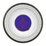 [Crown] keep calm and eat ice-cream  Pet Bowl