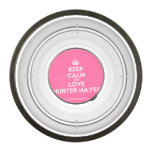 [Crown] keep calm and love hunter hayes  Pet Bowl