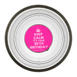 [Crown] keep calm it's your 30th birthday  Pet Bowl