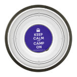 [Campervan] keep calm and camp on  Pet Bowl