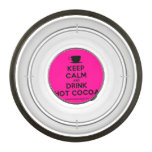 [Cup] keep calm and drink hot cocoa  Pet Bowl