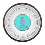 [Cupcake] keep calm and love cupcakes  Pet Bowl