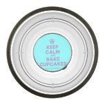 [Cupcake] keep calm and bake cupcakes  Pet Bowl