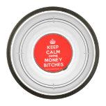 [Crown] keep calm gimme money bitches  Pet Bowl