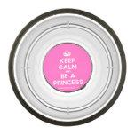 [Crown] keep calm and be a princess  Pet Bowl