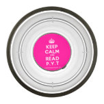 [Crown] keep calm and read p.y.t  Pet Bowl
