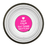 [Love heart] keep calm and eat some skittles!  Pet Bowl