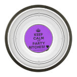 [Crown] keep calm and party bitches! [Love heart]  Pet Bowl