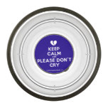 [Broken heart] keep calm and please don't cry  Pet Bowl