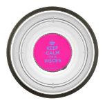 [Crown] keep calm i'm a pisces  Pet Bowl