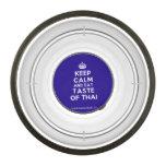 [Crown] keep calm and eat taste of thai  Pet Bowl