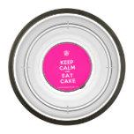 [Cupcake] keep calm and eat cake  Pet Bowl