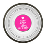[Love heart] keep calm and i love my body  Pet Bowl