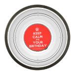 [Cupcake] keep calm its your birthday  Pet Bowl