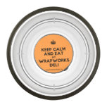 [Crown] keep calm and eat at wrapworks deli  Pet Bowl