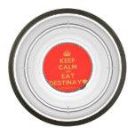 [Crown] keep calm and eat destinay♥  Pet Bowl