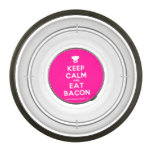 [Chef hat] keep calm and eat bacon  Pet Bowl