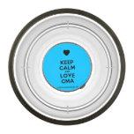 [Love heart] keep calm and love cma  Pet Bowl