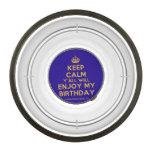 [Crown] keep calm y'all will enjoy my birthday  Pet Bowl