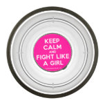 keep calm and fight like a girl  Pet Bowl