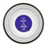 [UK Flag] keep a stiff upper lip  Pet Bowl