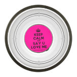 [Crown] keep calm and say u love me  Pet Bowl