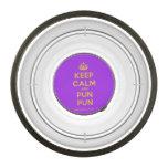 [Crown] keep calm and pun pun  Pet Bowl