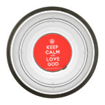 [Cupcake] keep calm and love god  Pet Bowl
