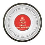 [Crown] keep calm and drink champagne  Pet Bowl