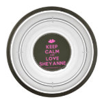 [Two hearts] keep calm and love sheyanne  Pet Bowl