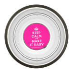 [Crown] keep calm and make it easy  Pet Bowl