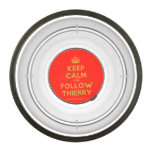 [Crown] keep calm and follow thierry  Pet Bowl