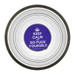 [Crown] keep calm and go fuck yourself  Pet Bowl