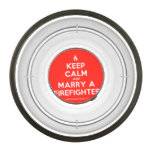 [Campfire] keep calm and marry a firefighter  Pet Bowl