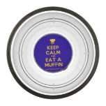 [Chef hat] keep calm and eat a muffin  Pet Bowl