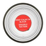 keep calm i'm black disciple nation  Pet Bowl