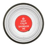 [Crown] keep calm and sponsor me  Pet Bowl