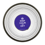 [Crown] keep calm and cry  Pet Bowl