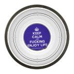 [Crown] keep calm and fucking enjoy life  Pet Bowl
