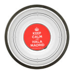 [Crown] keep calm and hala madrid  Pet Bowl