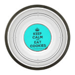 [Crown] keep calm and eat cookies  Pet Bowl