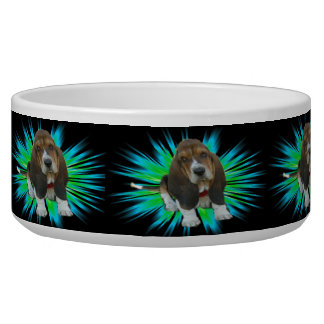 Pet Bowl Baby Basset Hound Sheldon